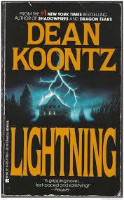 Lightning by Dean Koontz - book cover